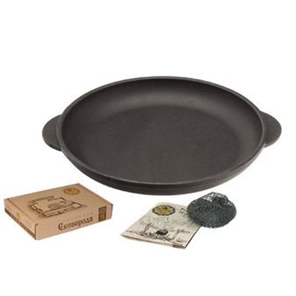 Ketaus keptuvė -lėkštė-porcijinė 18*2,5 cm   Т101-pakuotė