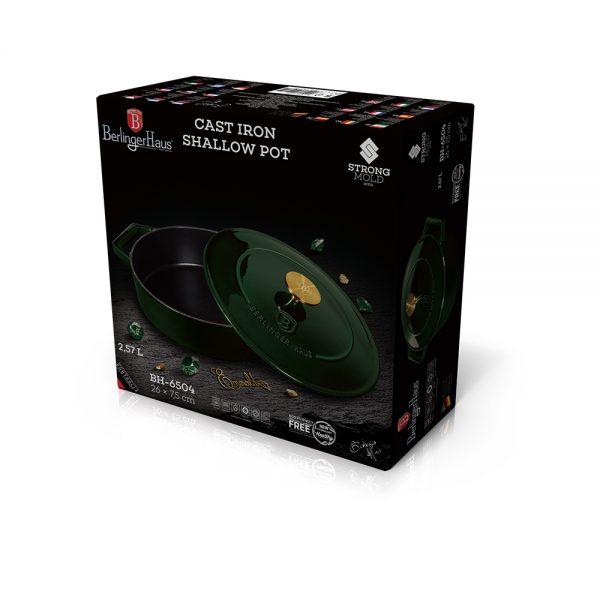 Špižinis puodas, 26 cm, Emerald Collection BH/6504-dėžėje