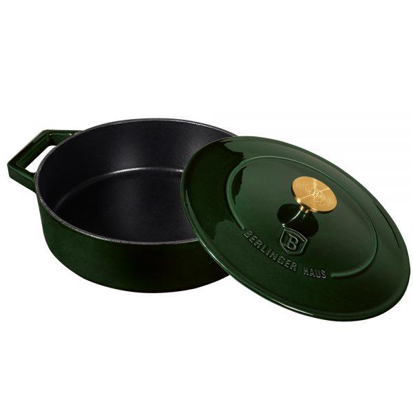 Špižinis puodas, 26 cm, Emerald Collection BH/6504-dangtis