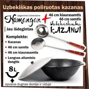 Uzbekiskas-kazanas-Namangan-8l-Samtis-ir-Kiaurasamtis-Komplektas-kk8-s48-p48