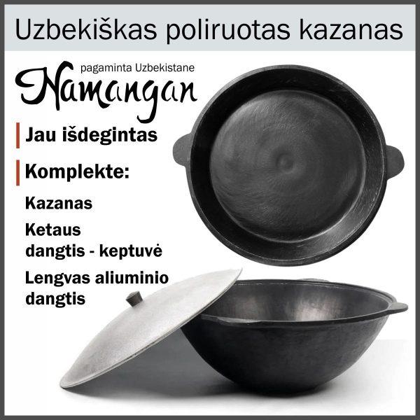 Uzbekiskas-kazanas-Namangan su ketaus-dangciu-keptuve-kk10-dkk-10-bundle-aprasymas