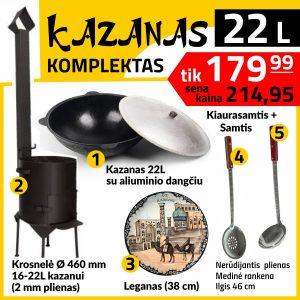 Krosnele-kazanui-KM22-kazanas-kk22-leganas-P-S-48-Komplektas