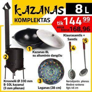 Krosnele-kazanui-KM10-kazanas-kk8-leganas-P-S-48-Komplektas