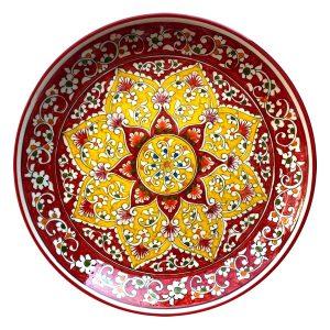 Leganas uzbekiškas keraminis rankų darbo