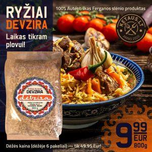 Ryžiai Devzira, 800 g